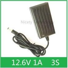Cargador de batería de iones de litio, sistema IC con luz de conversión, 12V, 1a