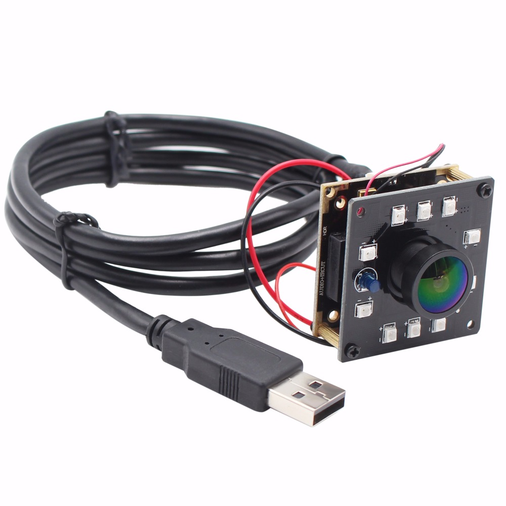 Fisheye Night Vision CCTV USB Camera board 1.3MP 1280* 960 cmos AR0130 10pcs IR LEDS Surveillance Camera module ir cut filter elp wide angle mini usb camera 1 3mp 960p cmos ar0130 ir cut ir led day night vision cctv industrial board usb camera module