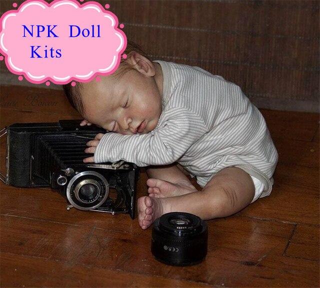 ทำในประเทศจีนที่มีคุณภาพดี20 inchซิลิโคนทารกเกิดใหม่ชุดFitสำหรับ22มิลลิเมตรตาน่าสนใจดีRebornอุปกรณ์ตุ๊กตาสำหรับเด็กที่จะDIYตุ๊กตา