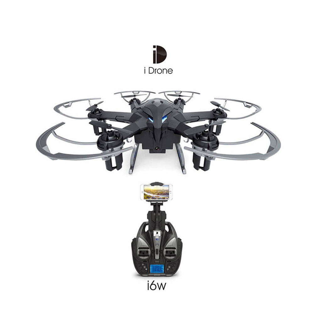 Yi Zhan Yizhan i6W WIFI FPV With 720P Camera 3D Flip RC Hexacopter 2.4GHz Remote ControlAuto Return RC Multicopter RTF yizhan i8h 4axis professiona rc drone wifi fpv hd camera video remote control toys quadcopter helicopter aircraft plane toy