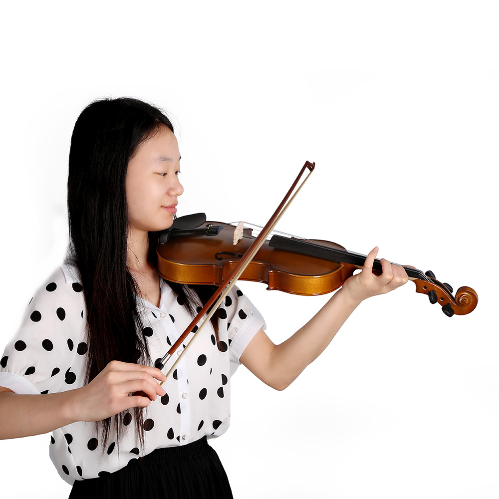 aliexpress com buy top quality 4 4 full size violin fiddle