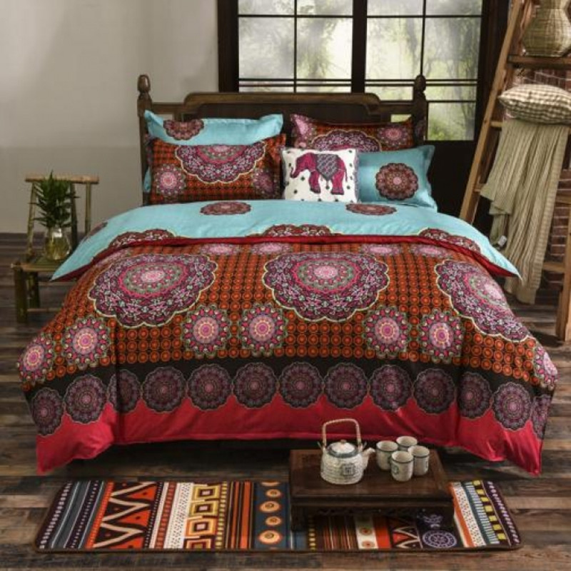 duvet bohemian mandala personalized collections set sets hippie bedding boho comforter bedspread indie cover