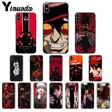 Yinuoda Anime Hellsing Alucard Fan TPU Soft Phone Case Cover untuk Apple IPhone8 7 6 6S Plus X XS MAX 5 5S SE XR 11 11pro 11 Promax(China)