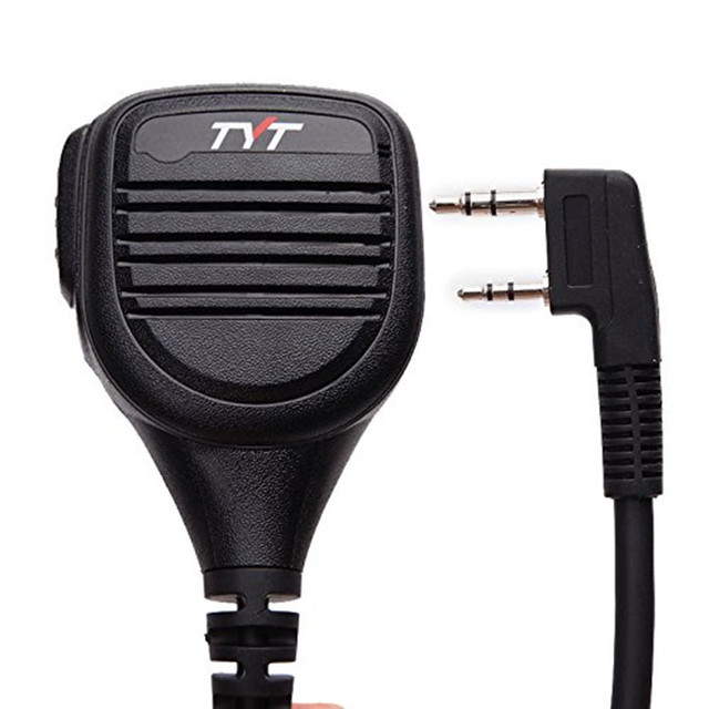 TYT Rainproof Shoulder Speaker Microphone Remote IP54  for TYT MD 380 MD 390 TH UV8000E BaoFeng, AnyTone Walkie Talkie