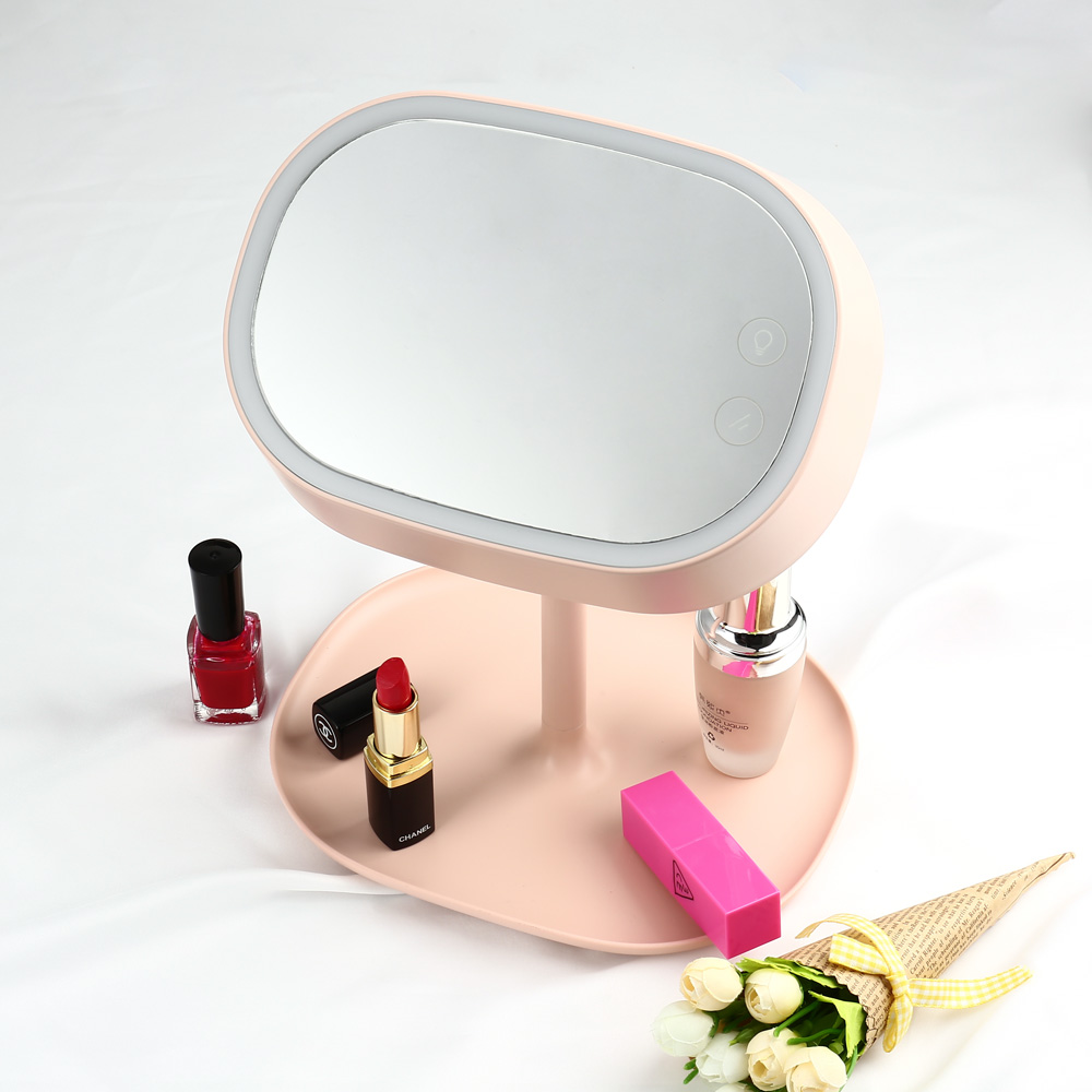ФОТО New Hot seller LED Cosmetic Mirror Table Lamp Makeup Portable Adjustable USB Lamp Table Lamps For Girls For Bedroom Home Decor