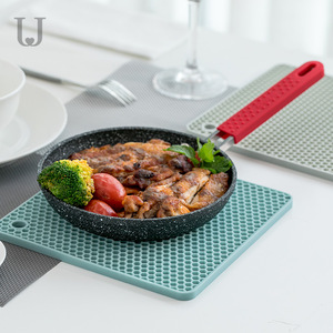 Image 2 - Youpin ürdün & Judy Beahive çift taraflı yemek Mat mutfak Anti demir Placemat kase fincan Mat kaymaz yumuşak Mat