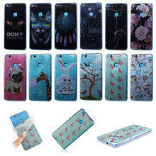ФОТО 2018 fashion case for huawei p10 lite cute printed patterned soft tpu case for huawei mate 10 pro lite silicone glossy cover