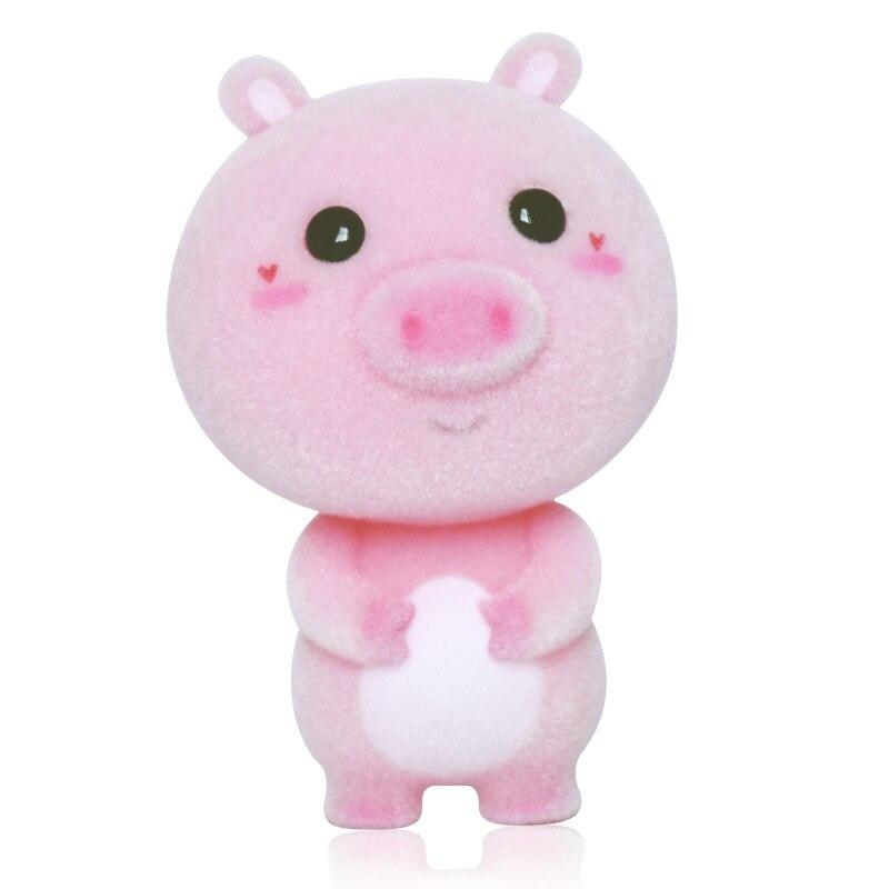 2c55320d329cfb Leuke Roze Varken Massaal Pop Speelgoed Mini Dieren Poppen Voor Kinderen  Cut Grote Ogen Kerst Verjaardagscadeau Chinese Zodiac Animal