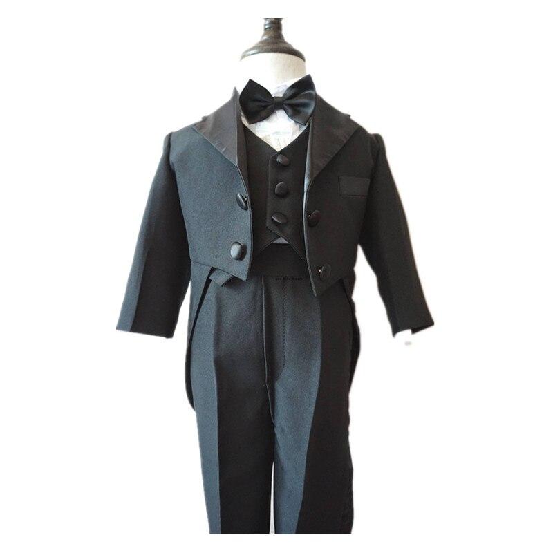 BBWOWLIN Baby Boy Swallowtail Clothes for 3 12M Boy Wedding Party 70127