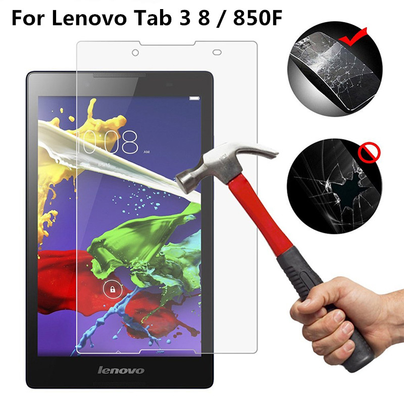 Tempered Glass For Lenovo Tab 3 8 8 Plus 8.0 Inch 850F 850M 850L 850 TB-8703X TB-8703F TB-8703N P8 Tablet Screen Protector