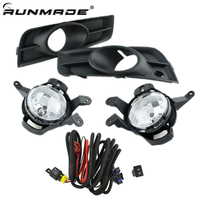 runmade Car Fog Light Left and Right for 2009 2012 Chevrolet Cruze Fog Lamp with Switch Harness Covers Fog Lamp Kit