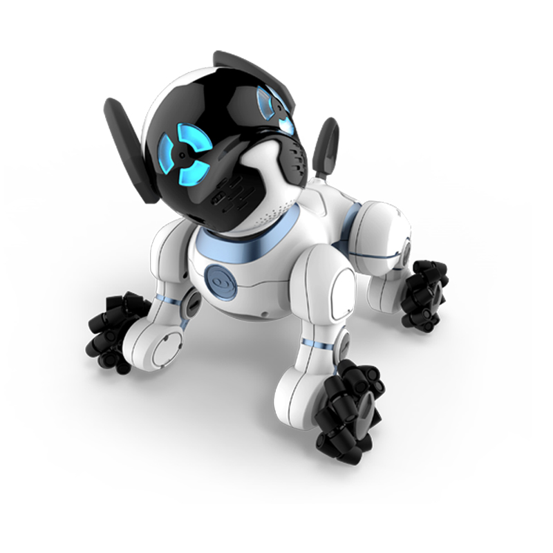 WowWee CHiP Robot Dog Intelligent, Affectionate Toy With Advanced Sensors and Smart Accessories wowwee кукла зомби спящая красавица wowwee