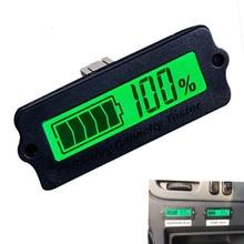 12 В ly6w свинцово-кислотная Батарея Ёмкость индикатор ЖК-дисплей цифровой Дисплей метр lipo Батарея Ёмкость Мощность Обнаружения Тестер Вольтметр