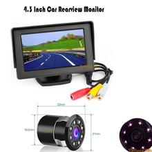цена на Wide Viewing Angle Waterproof IR Camera 8 IR Night Vision Rearview Car Rear Camera CCD Image Sensor,Loewr Sales price