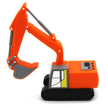 Truck excavator model USB stick flash drive