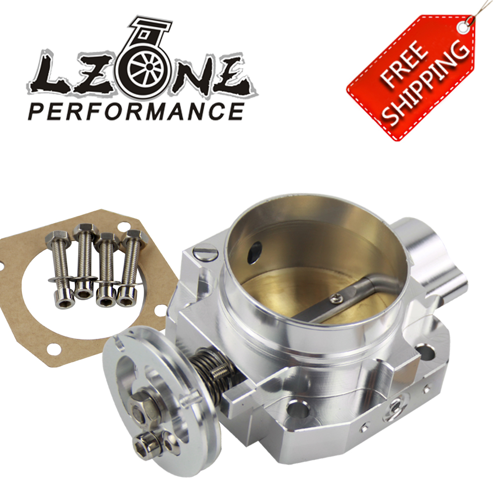 FREE SHIPPING NEW THROTTLE BODY FOR HONDA B16 B18 D16 F22 B20 D/B/H/F THROTTLE BODY 70MM EF EG EK DC2 H22 D15 D16 JR6952
