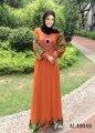 Buena calidad tela spandex dubai abaya abaya grande incluyen hijabs