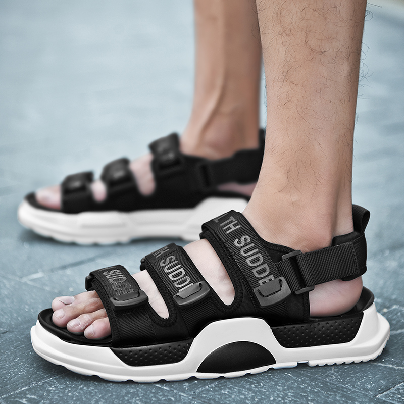 Summer Comfortable Breathable Fashion Sandals Mens River Creek Water Shoes Walking Sandals Beach Outdoor Men Slippers Slides(China)