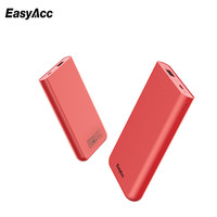 10000mAh Power Bank For Xiaomi Mi Easyacc 5V 2A Dual USB Ports External Battery Portable Charger