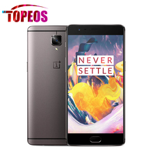 OnePlus 3T A3010 5.5inch Mobile Cell Phone 6GB RAM+64GB ROM 16MP 1920*1080 FHD Android 6.0 OS Snapdragon 821 NFC Fingerprint