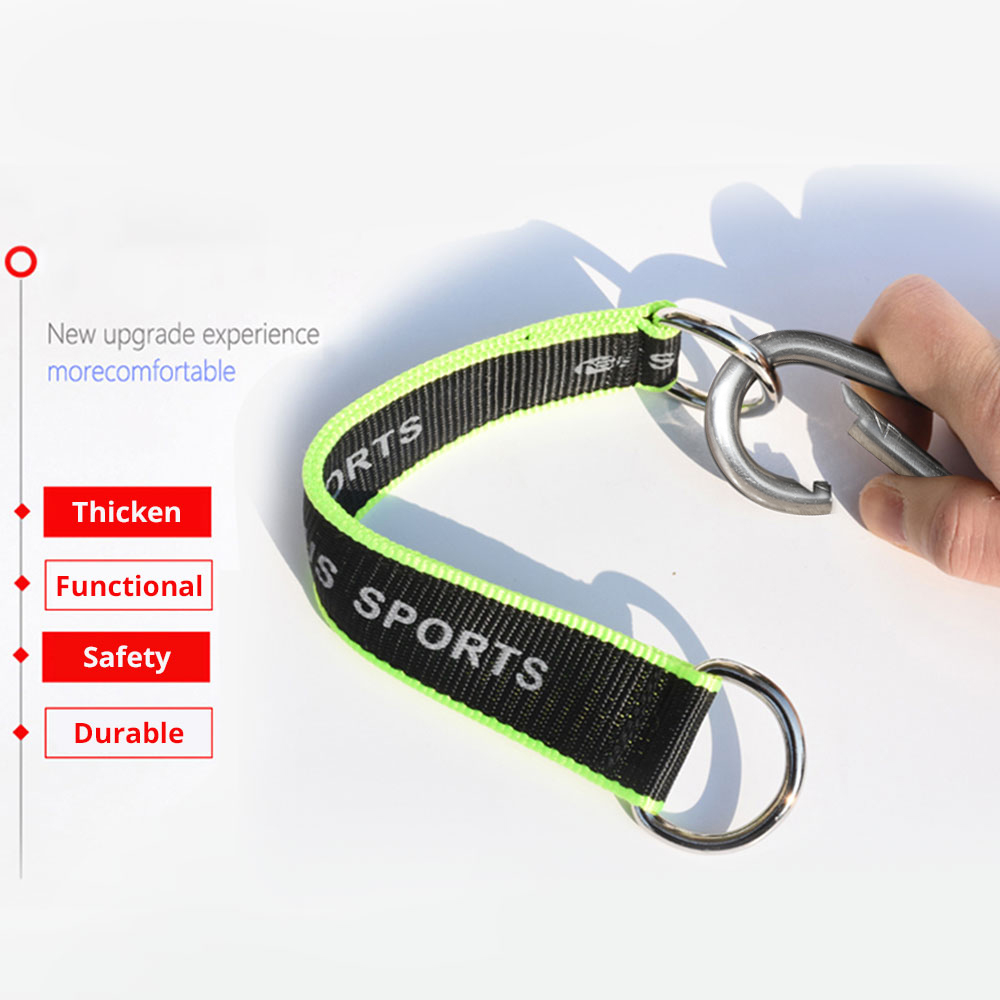 1pc Multifunction Fitness equipment hook Ring Hanging Belt with Hook Hanging Sandbag Pull Up Rope Fitness Equipment Accessories 4