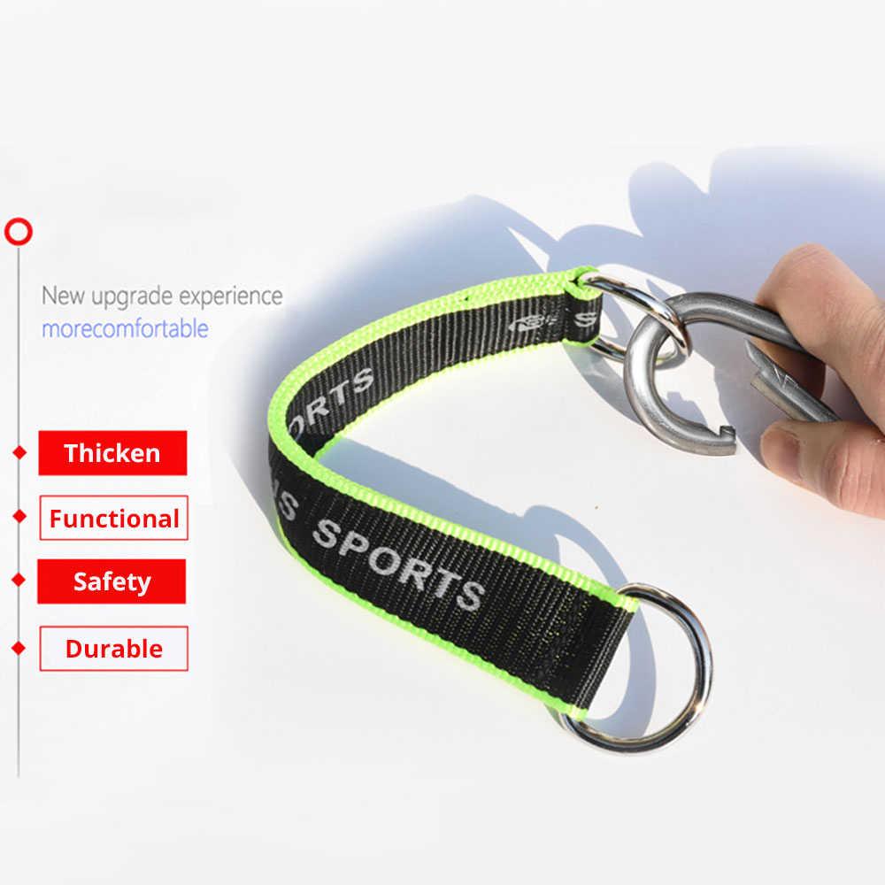 1Pc Multifunctionele Fitness Apparatuur Haak Ring Opknoping Riem Met Haak Opknoping Zandzak Pull Up Rope Fitness Apparatuur Accessoires