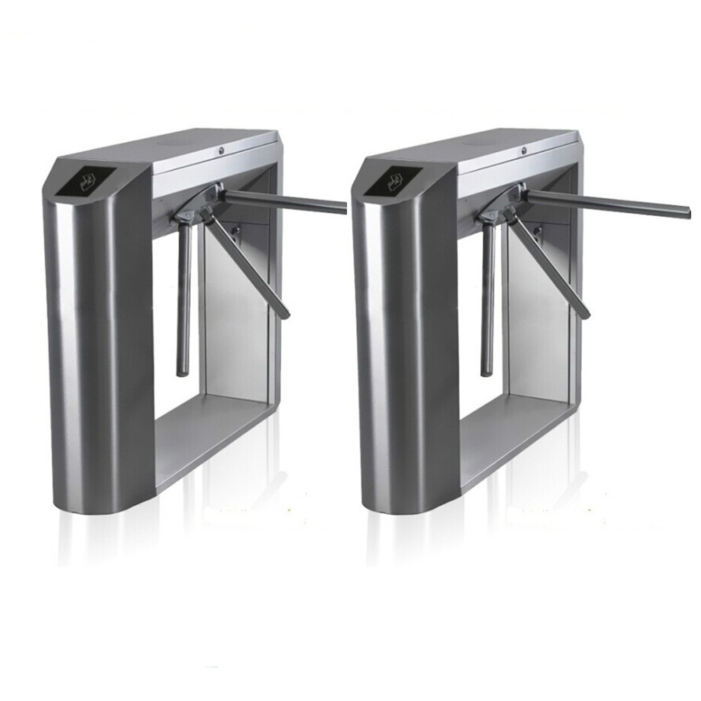 high quality Bridge house full automatic tripod turnstile rfid card reader security turnstile gate full tripod turnstile three armed rotating security gate operater for access control system