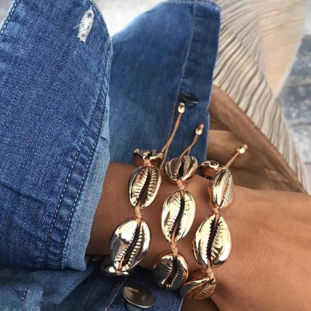 VKME, тканый браслет, женский браслет, регулируемый размер, золотой и серебряный браслет, богемный стиль, браслет, подарок