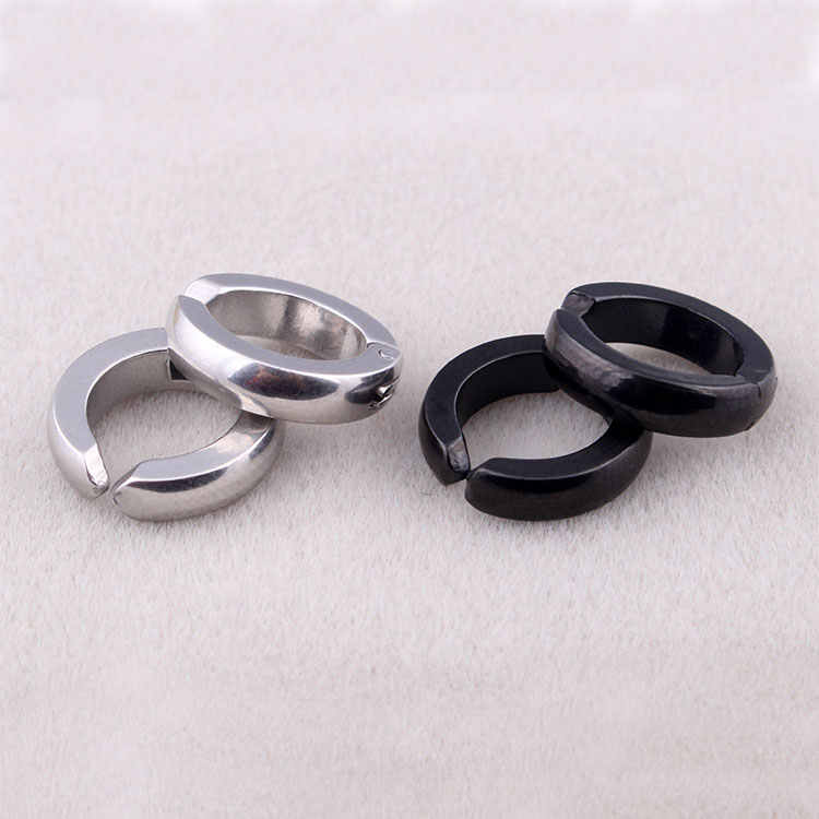 7c295fbd6c37d Detail Feedback Questions about Fashion Mens Non Piercing Hoop ...