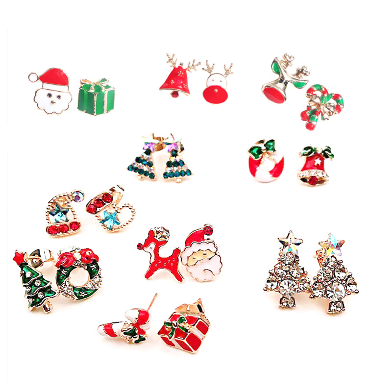 christmas tree snowman snowflake