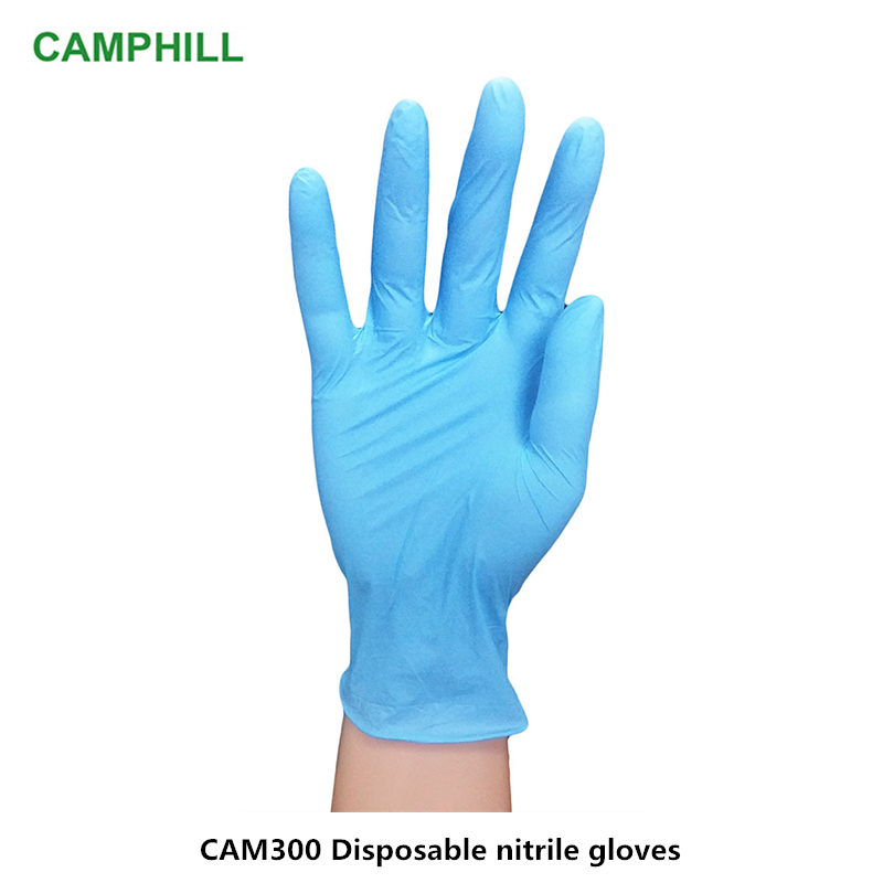 CAMSTERILE 200pcs Disposable Nitrile Latex Medical Examination Gloves And Home Food Laboratory Cleaning Rubber Gloves