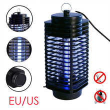 Elettrico Mosquito Killer Moth Uccidendo Insetto LED Bug US/EU 220 V Trappola Lampada Zapper Fly Vespa Pest-M25(China)
