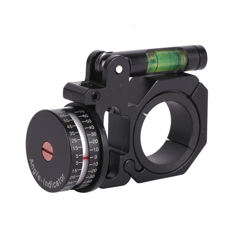 2018 New Outdoor Hunting Sports Rifle Scopes Angle Indicator With Bubble Level Fit 25.4mm and 30mm Gun Stock Accessories Tool
