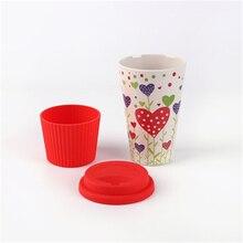 Reusable Bamboo Fiber Coffee Cup