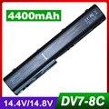 4400mAh battery for Hp Pavilion DV7 DV7-1000 dv7-1200 dv7-2000 dv7-2100 dv7-2200 dv7-3000 dv7-3100 dv7t dv7z dv7t-1000 DV8 dv8t