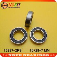 Подшипник ступицы велосипеда 61902-16 2RS, 6902-16 2RS, 16287-2RS для подбородка Haur Disc/HH серии ступицы и A2Z XCR/XCF серии ступицы 16*28*7 мм