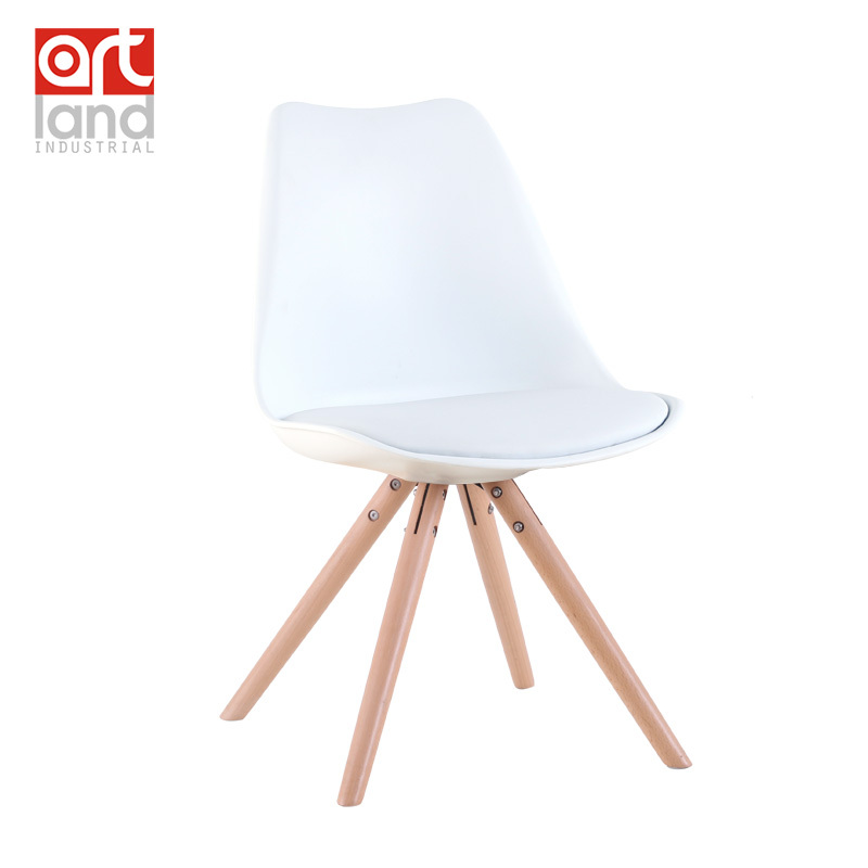 upholstered plastic side chair with beech wood legs dining chair leisure chair cheap free shipping door to door ch177 natural side chair walnut ash