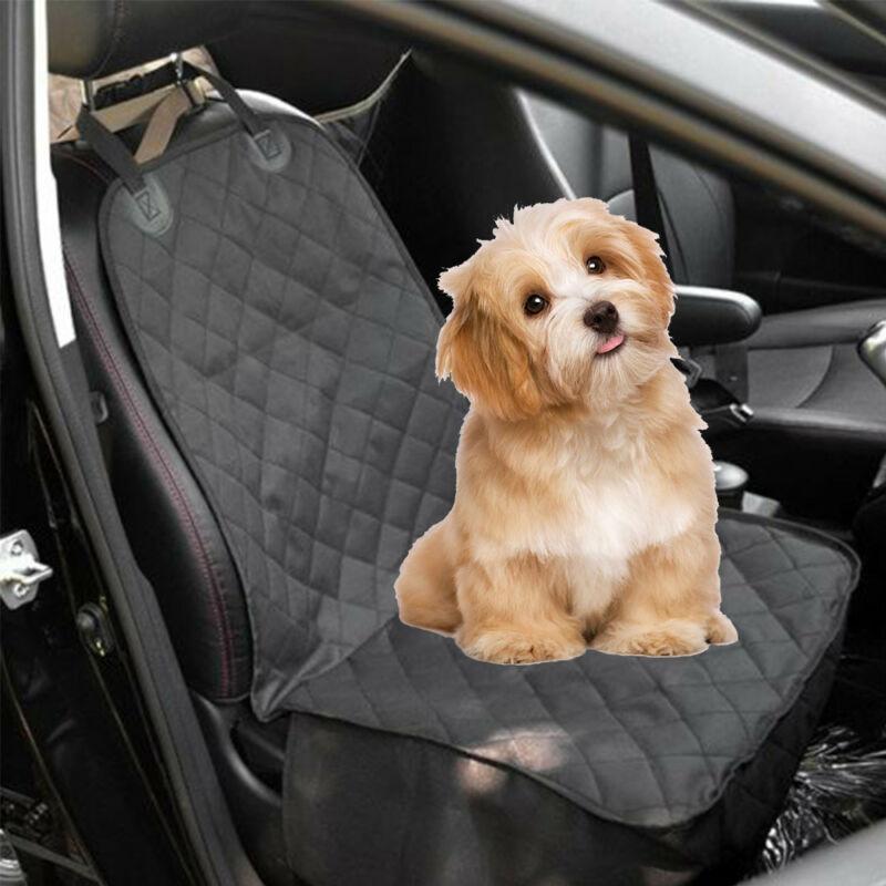 Imperméable à l'eau pour animaux de compagnie chien siège avant housse de siège de voiture couvre tapis de protection confortable chien transporteurs chien siège de voiture bas housse de banc
