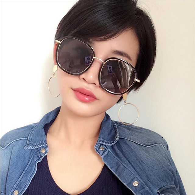 2017 Mix Vento Quente da venda de Moda de Alta qualidade óculos de sol Da Marca Designer óculos de Sol Homens e mulheres Óculos de Sol Retro