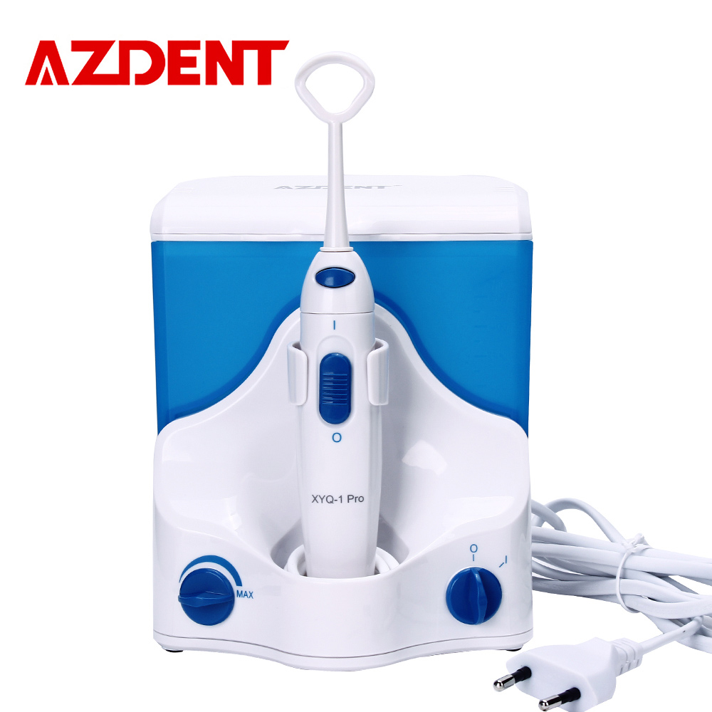 AZDENT XYQ-1 Pro Professional Electric Oral Irrigator Floss Water Jet Dental Flosser Portable Water Tooth Teeth Floss Irrigator yasi v8 rechargeable electric oral irrigator water toothpick teeth whitening water flosser dental tooth cleaning tool eu plug