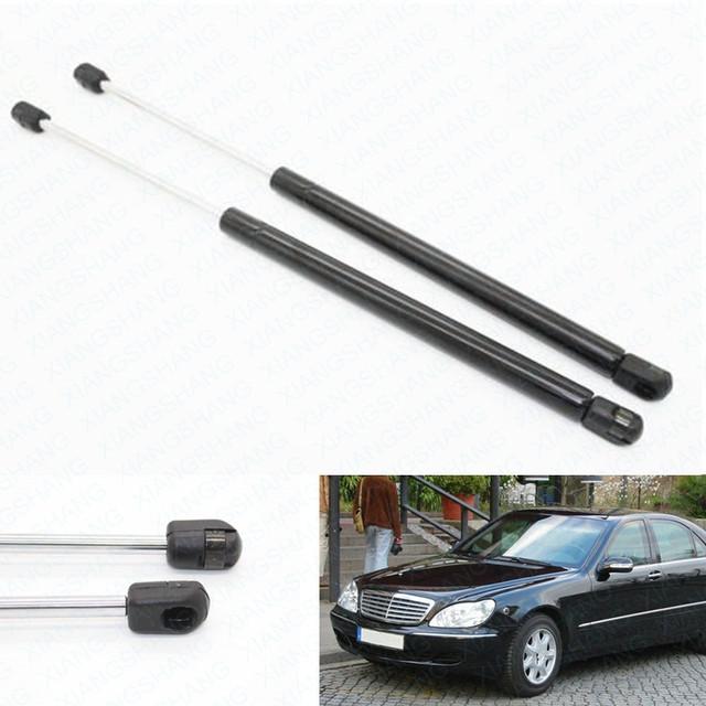 2 pcs Carro Auto Choque Struts Gás Struts Capot Capô Elevador Suporta para Mercedes-Benz W220 S280 S320 S350 S400 S500 S600