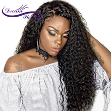 hot deal buy dream beauty 250% density brazilian lace front human hair wigs with baby hair 12-24 inch remy hair pre plucked curly wigs