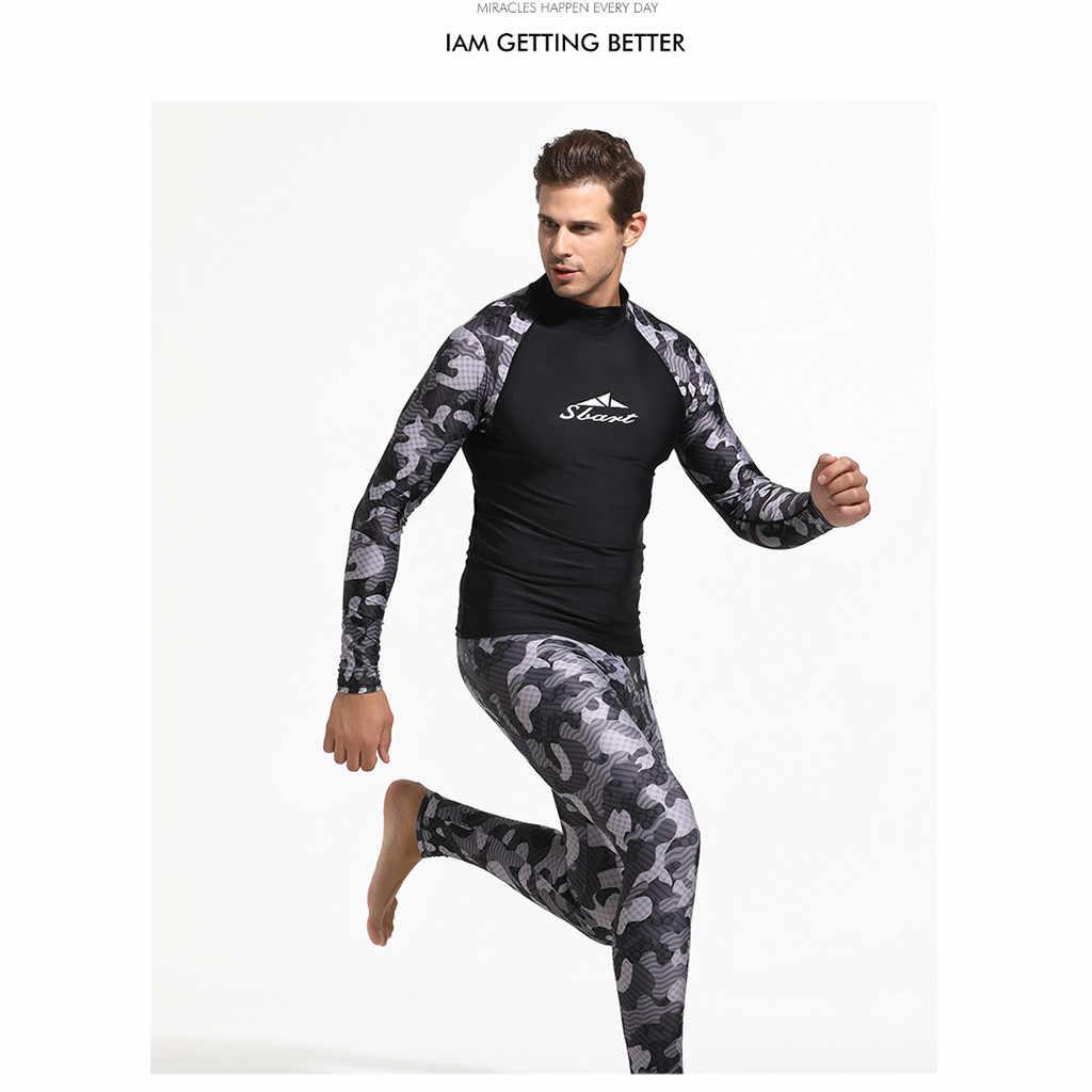 2019 Nieuwe Mode Ademend Comfortabele Duiken Wetsuit 3mm LIFURIOUS Mannen Pesca Spearfishing Snorkel Badpak Split Suits April.
