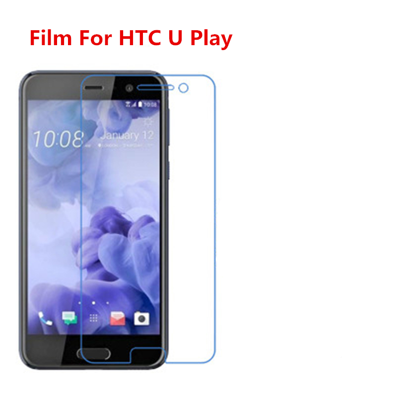 1/2/5/10 Pcs Ultra Thin Clear Hd Lcd Screen Guard Protector Film With Cleaning Cloth Film For Htc U Play. Moderate Cost