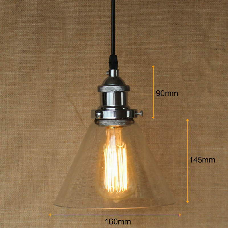 Hanging clear glass shade Pendant Lamp with Edison Light bulb|Kitchen Lights and Cabinet LightsHanging clear glass shade Pendant Lamp with Edison Light bulb|Kitchen Lights and Cabinet Lights