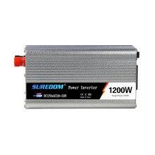 1200w Solar Inverter Multifunctional Travel Power Supply Control Dual USB Car power inverter 110V 220V