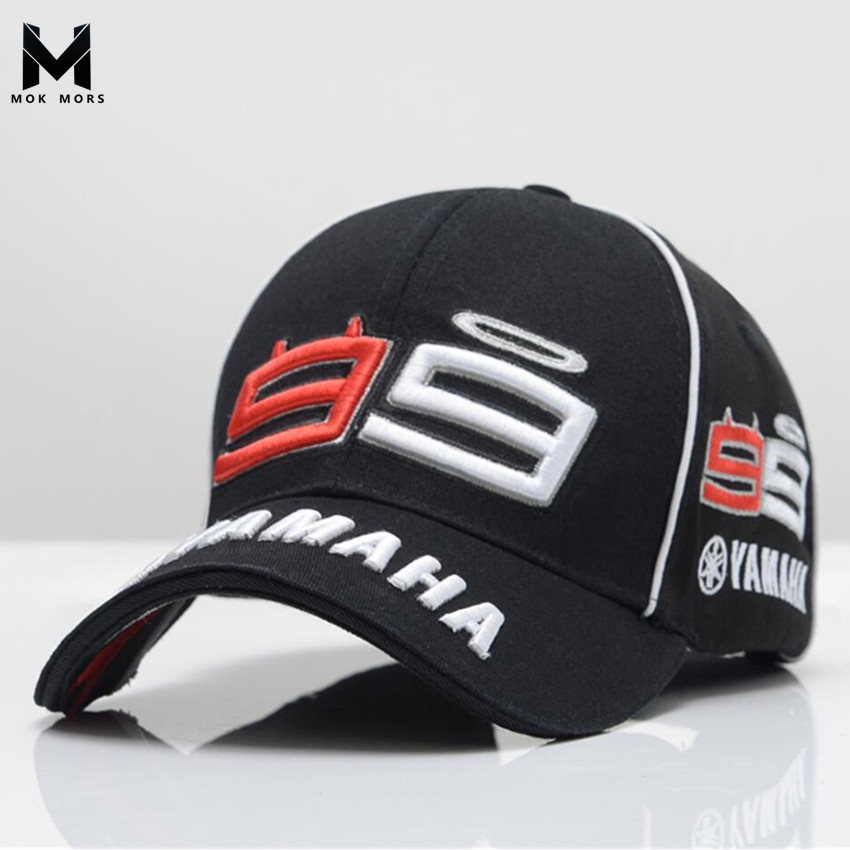 2017 Newest F1 MOTO GP Jorge Lorenzo Mens Embroidery 99 YAMAHA Cap Motorcycle Racing Men Baseball Cap Gorra Sport Snapback Hats moto gp baseball cap 69 race nicky hayden same paragraph snapback hats moto bone motorcycle outdoor sports cap men gorra racing