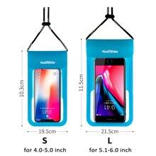 IPX8 водонепроницаемый чехол для телефона идеально подходит для катания на байдарках рафтинг плавательный сухой мешок защищает ваш сотовый телефон и ценные вещи