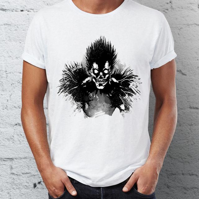Men's T Shirt Bored Shinigami Death Note