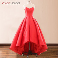 Red Hilow Strapless Prom Ball Gowns vestido de festa Women Modest Prom Dress Red Carpet Formal Dress vestido formatura marsala